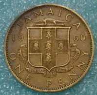 Jamaica 1 Penny, 1960 - Jamaica