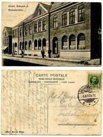 Denmark 1907 Postcard Brønderslev - Hotel Eduard, To Taarbæk Strandvej - Danimarca