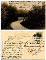 Denmark 1907 Postcard Rural Road, Brønderslev To København - Danimarca