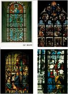VITRAUX /  Lot De 90 Cartes Postales Modernes Neuves - Cartes Postales