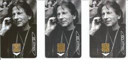 3 Télécartes CINEMA ROMAN POLANSKI 50 Et 120 U GEM2 Et OB1 - 03/00 Utilisées (N° 1032 - 1032 B - 1033) - 2000