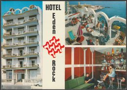 Multiview, Hotel Eden Rock, Tower Road, Sliema, C.1960s - Sinetmalta Postcard - Malta