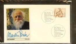 1978 - Deutschland FDC Mi. 962 (1) - 100. Geburtstag Martin Buber - Philosoph [PB6_595] - [7] West-Duitsland
