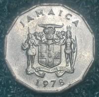 Jamaica 1 Cent, 1978 W/o Mintmark - Jamaica