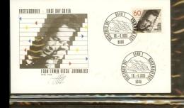 1985 - Deutschland FDC Mi. 1247 (2) - 100. Geburtstag Von Egon Erwin Kisch - Journalist Und Schriftsteller [PB6_828] - [7] West-Duitsland