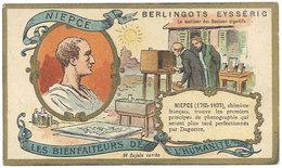Chromo Berlingots Eysséric Carpentras - Les Bienfaiteurs De L'Humanité, Niepce, Photographie, Photo - Autres