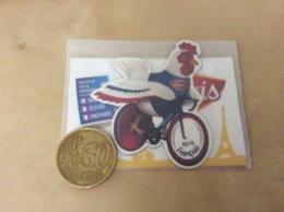 Magnet * «TOUR DE FRANCE 2018 / Le Gaulois» (coq, Vélo) - Magnets