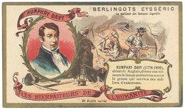 Chromo Berlingots Eysséric Carpentras - Les Bienfaiteurs De L'Humanité, Humphry Davy, Mineurs, Mine, Lampe, Grisou - Autres