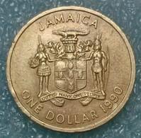 Jamaica 1 Dollar, 1990 - Jamaica