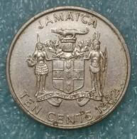Jamaica 10 Cents, 1992 - Jamaica