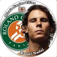 Pin Rafael Nadal Rolland Garros 11 Men's Singles Titles - Tennis