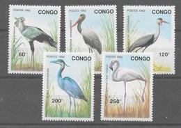Serie De Congo Nº Yvert 958/62 (**) - République Démocratique Du Congo (1997 -...)
