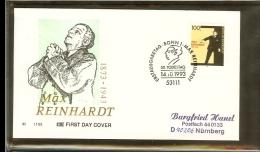 1993 - Deutschland FDC Mi. 1703 - 50. Todestag Von Max Reinhardt - Schauspieler [PB4_117] - [7] West-Duitsland