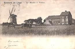 Liège (environs) - Le Moulin à Vottem (animée, Vaches, Heintz Jadoul, 1903) - Liege