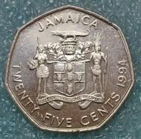 Jamaica 25 Cents, 1994 - Jamaica
