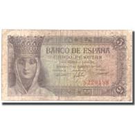 Billet, Espagne, 5 Pesetas, 1943, 1943-02-13, KM:127a, TB+ - 5 Pesetas