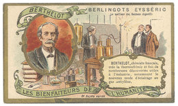 Chromo Berlingots Eysséric Carpentras - Les Bienfaiteurs De L'Humanité, Berthelot, Chimiste - Chromos