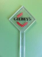 118 - Touilleur - Agitateur - Mélangeur à Boisson - Gin - Gilbey's - Swizzle Sticks