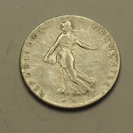 1918 - France - 50 CENTIMES, Semeuse, Argent, Silver, KM 854, Gad 420 - G. 50 Centimes