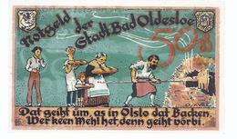 Notgeld - Oldesloe , Schleswig Holstein  - Einzelschein 50 Pfennige     NG-113 - [11] Emissions Locales