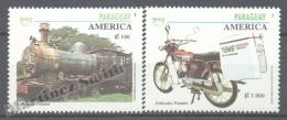 Paraguay 1994 Yvert 2668-69, América UPAEP, Postal Vehicles Transports - MNH - Paraguay