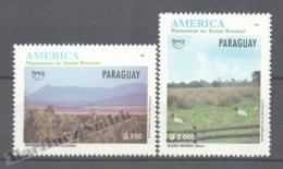 Paraguay 1995 Yvert 2691-92, América UPAEP, Nature Protection & Preservation - MNH - Paraguay