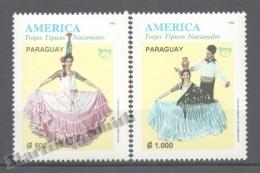 Paraguay 1996 Yvert 2710-11, América UPAEP, Traditional Costumes - MNH - Paraguay