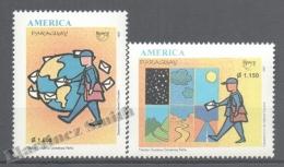 Paraguay 1997 Yvert 2733-34, América UPAEP, Postman - MNH - Paraguay