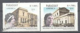 Paraguay 1998 Yvert 2764-65, América UPAEP, Famous Women - MNH - Paraguay