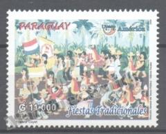 Paraguay 2007 Yvert 3011, América UPAEP, Traditional Celebrations - MNH - Paraguay