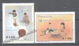 Paraguay 2009 Yvert 3032-33, América UPAEP, Traditional Games - MNH - Paraguay