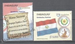 Paraguay 2010 Yvert 3041-42, América UPAEP, National Symbols - MNH - Paraguay