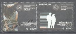 Paraguay 2015 Yvert 3207-08, América UPAEP, Fight Against Women Slaves - MNH - Paraguay