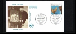 1991 - Germany FDC Mi. 1569 - Art - Paintings - By Max Ernst [JY021] - FDC