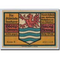 Billet, Allemagne, Stolp, 50 Pfennig, Ecusson, O.D, SPL, Mehl:1274.1 - Other
