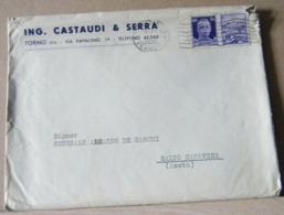 MONDOSORPRESA STORIA POSTALE PROPAGANDA DI GUERRA 50C. VIOLETTO, MARINA - 4. 1944-45 Repubblica Sociale