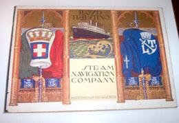 Navigazione Lloyd Triestino Steam Navigation Company  Notes 1836-1920 - Ed. 1920 - Libri, Riviste, Fumetti