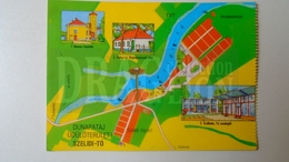 D159620 Map Carte Hungary  DUNAPATAJ SZELIDI -TÓ  1982 - Landkaarten