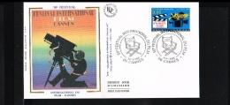1996 - France FDC Mi. 3183 - Art - Film & Television - Filmfestival - Cannes [JZ078] - FDC