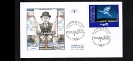 1998 - France FDC Mi. 3284 - Art - Paintings - By R. Magritte [KB030] - FDC