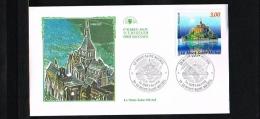1998 - France FDC Mi. 3305 - Architecture - Churches & Cathedrals - Mont Saint Michel [KB039] - 1990-1999