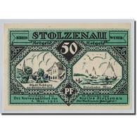 Billet, Allemagne, Stolzenau A.d Weser, 50 Pfennig, Bateau, 1921, 1921-05-01 - Other