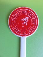 131 - Touilleur - Agitateur - Mélangeur à Boisson - Liqueur - L'Héritier Guyot - Grenouille - Swizzle Sticks