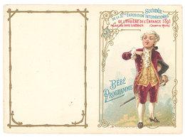 Bébé Programme, Souvenir De La 2ème Exposition Internationale De L'hygiène Et De L'enfance 1891, Paris Champ De Mars - Vieux Papiers