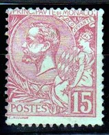 Monaco - Prince Albert 1er 1891 - 15c Rose Neuf Sans Charnière - TB - Monaco