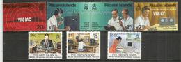 Club De Radio Amateurs De Pitcairn & Guglielmo Marconi.  7 Timbres Neufs ** - Timbres