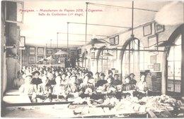 FR66 PERPIGNAN - Brun - Manufacture De Papiers JOB - Cigarettes - Salle De Confection - Animée - Belle - Perpignan