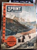 Journal Sprint  Sport Special Tour De France 1947 Carte Equipes - Other