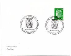 FAUNE + ABEILLE + RUCHE = 42 RIVE De GIER 1971  = CACHET Illustré ' CONGRES PHILATELIQUE FOREZ VELAY VIVARAIS' - Abejas