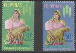 Philippines - 1963 Freedom From Hunger MNH **   Sc C88-9 - Philippines